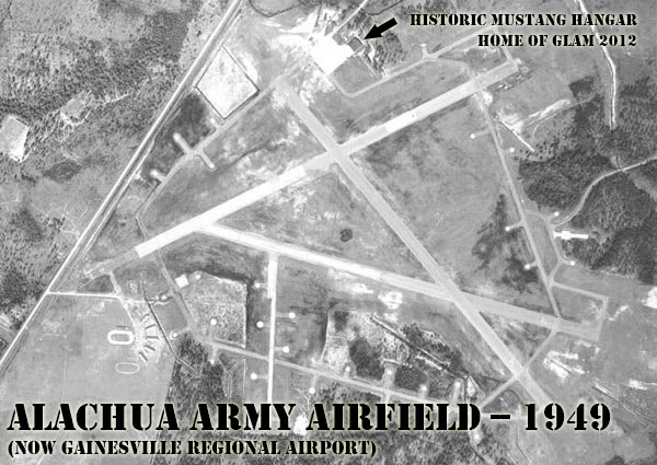 Alachua Army Airfield aerial photo
